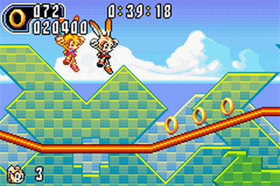 Sonic Advance 2 - Screenshot - Gameplay