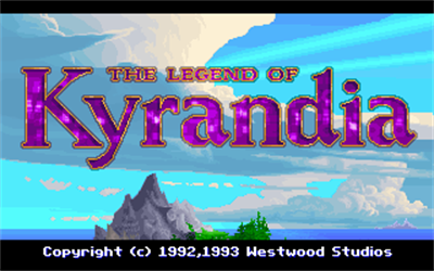 The Legend of Kyrandia: Book One - Screenshot - Game Title