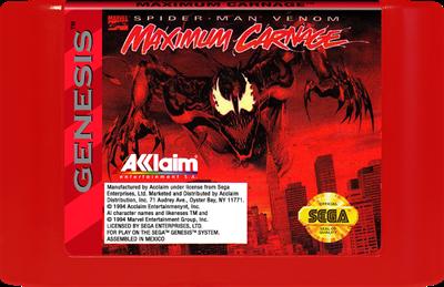 Spider-Man & Venom: Maximum Carnage - Cart - Front