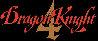Dragon Knight 4 - Clear Logo