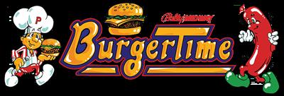 Burger Time - Clear Logo