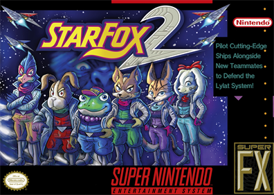 Star Fox 2 - Box - Front