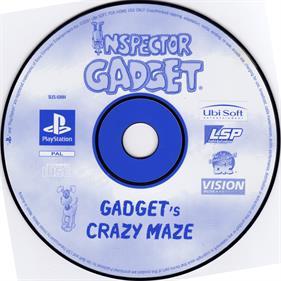 Inspector Gadget: Gadget's Crazy Maze - Disc