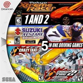 5 In One Driving Games