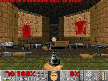 DOOM II: Hell on Earth - Screenshot - Gameplay