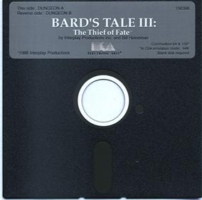 The Bard's Tale III: Thief of Fate - Disc