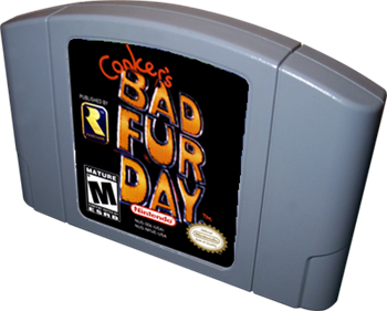 Conker's Bad Fur Day - Cart - 3D