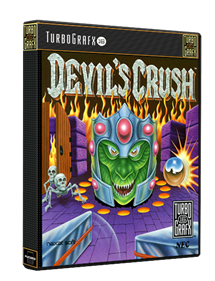Devil's Crush - Box - 3D
