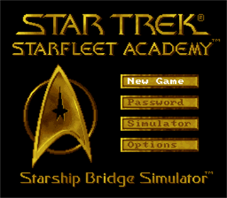 Star Trek: Starfleet Academy: Starship Bridge Simulator - Screenshot - Game Title