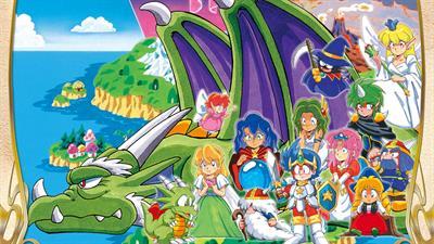 Wonder Boy in Monster World - Fanart - Background