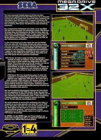 FIFA Soccer 96 - Box - Back