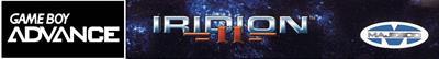 Iridion II - Banner