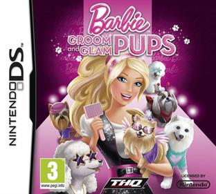 Barbie: Groom and Glam Pups - Box - Front