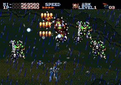 Robo Aleste - Screenshot - Gameplay