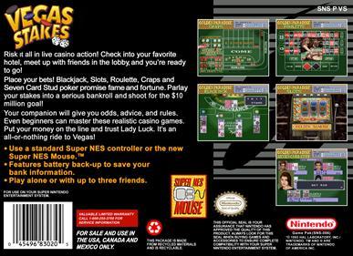 Vegas Stakes - Box - Back