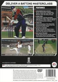 Cricket 07 - Box - Back