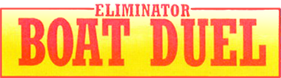Eliminator Boat Duel - Clear Logo
