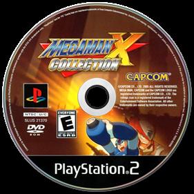 Mega Man X Collection - Disc