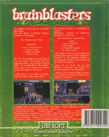 The Brain Blasters - Box - Back