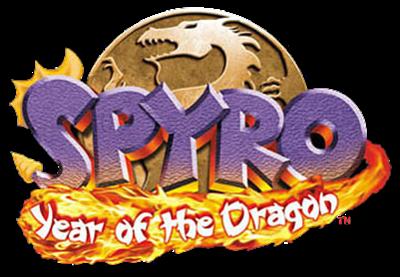 Spyro: Year of the Dragon - Clear Logo