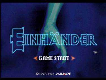 Einhänder - Screenshot - Game Title