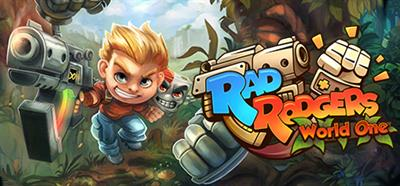 Rad Rodgers: World One - Banner