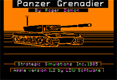 Panzer Grenadier - Screenshot - Gameplay