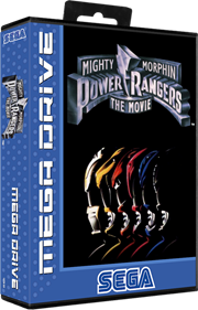 Mighty Morphin Power Rangers: The Movie - Box - 3D