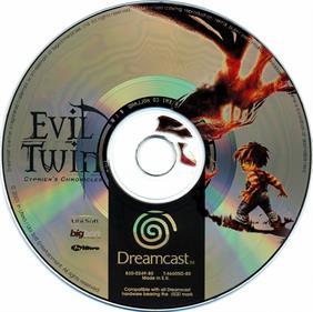 Evil Twin: Cyprien's Chronicles - Disc