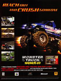 Monster Truck Madness 64 - Advertisement Flyer - Front