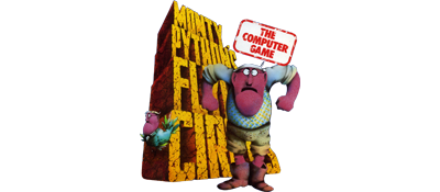 Monty Python's Flying Circus: The Computer Game - Clear Logo