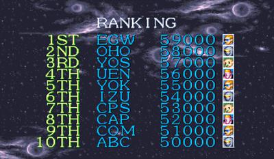 Captain Commando - Screenshot - High Scores
