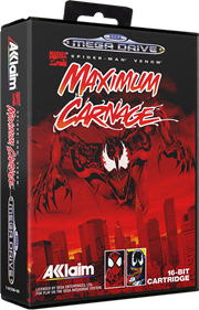 Spider-Man & Venom: Maximum Carnage - Box - 3D
