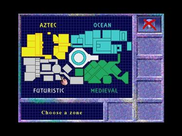The Crystal Maze - Screenshot - Game Select