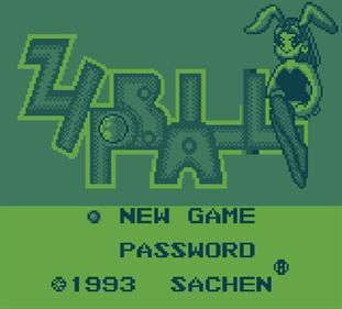 Zipball - Screenshot - Game Title