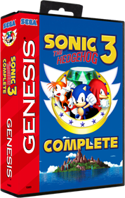 Sonic The Hedgehog 3 Complete - Box - 3D