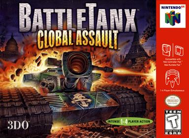BattleTanx: Global Assault - Box - Front