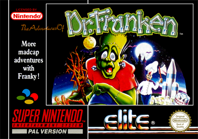The Adventures of Dr. Franken - Box - Front