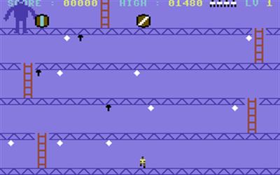 Crazy Kong - Screenshot - Gameplay