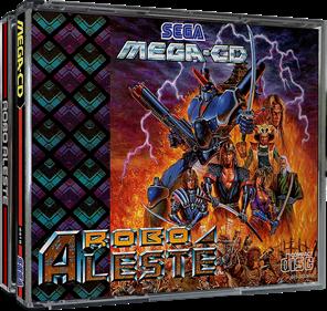Robo Aleste - Box - 3D