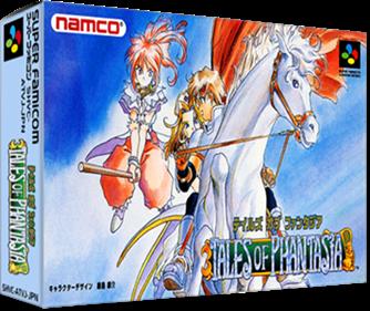 Tales of Phantasia - Box - 3D