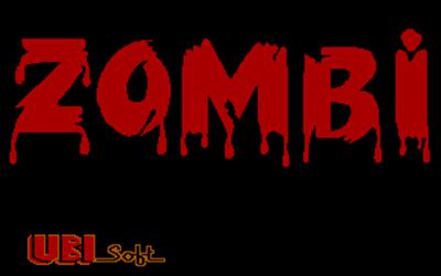 Zombi - Screenshot - Game Title