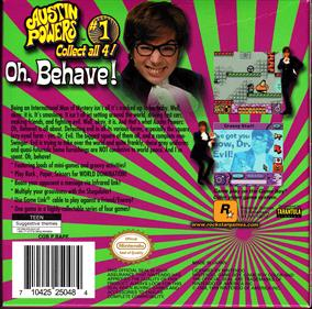 Austin Powers: Oh, Behave! - Box - Back