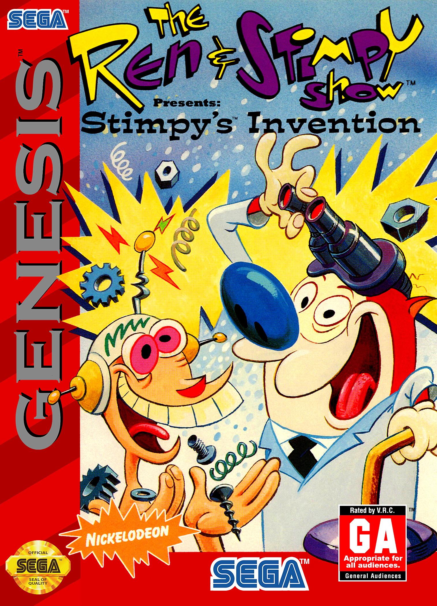 the ren stimpy show presents stimpy s invention details