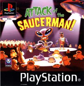 Attack of the Saucerman!