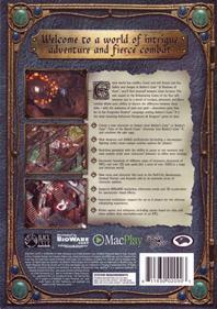 Baldur's Gate II: Shadows of Amn - Box - Back
