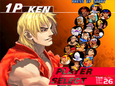 Street Fighter III: 3rd Strike: Fight for the Future - Screenshot - Game Select
