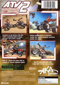 ATV Quad Power Racing 2 - Box - Back