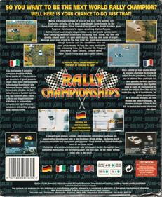 Rally Championships - Box - Back