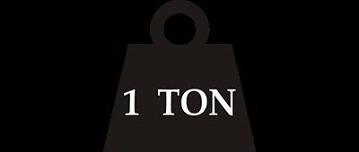 1 Ton - Clear Logo